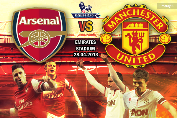 manchester united v arsenal Photo