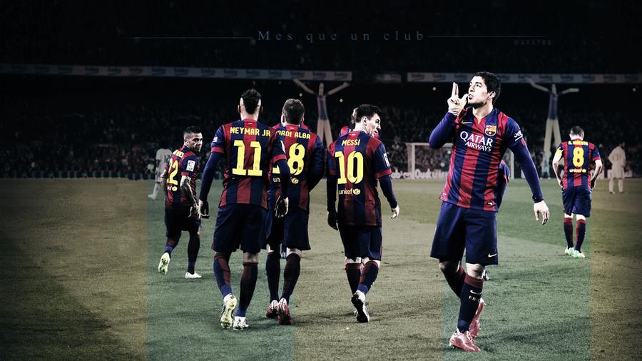 FC Barcelona 2015 Wallpaper By MaRaYu9