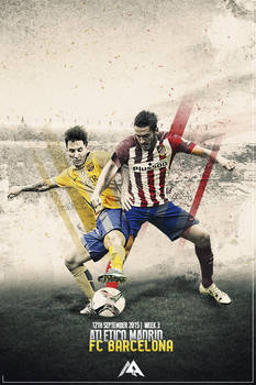 LL: Atletico vs FC Barcelona 15/16 by MaRaYu9