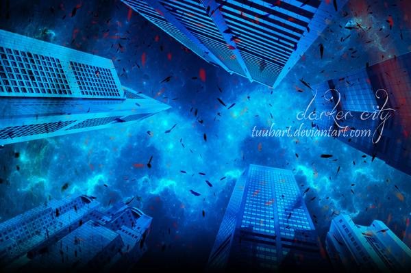 -darker city- by TuubArt