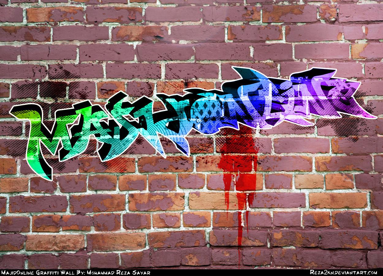 Graffiti wall tattoo - Majidonline Graffiti By Reza2kn Majidonline Graffiti By Reza2kn