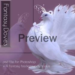Fantasy Doves