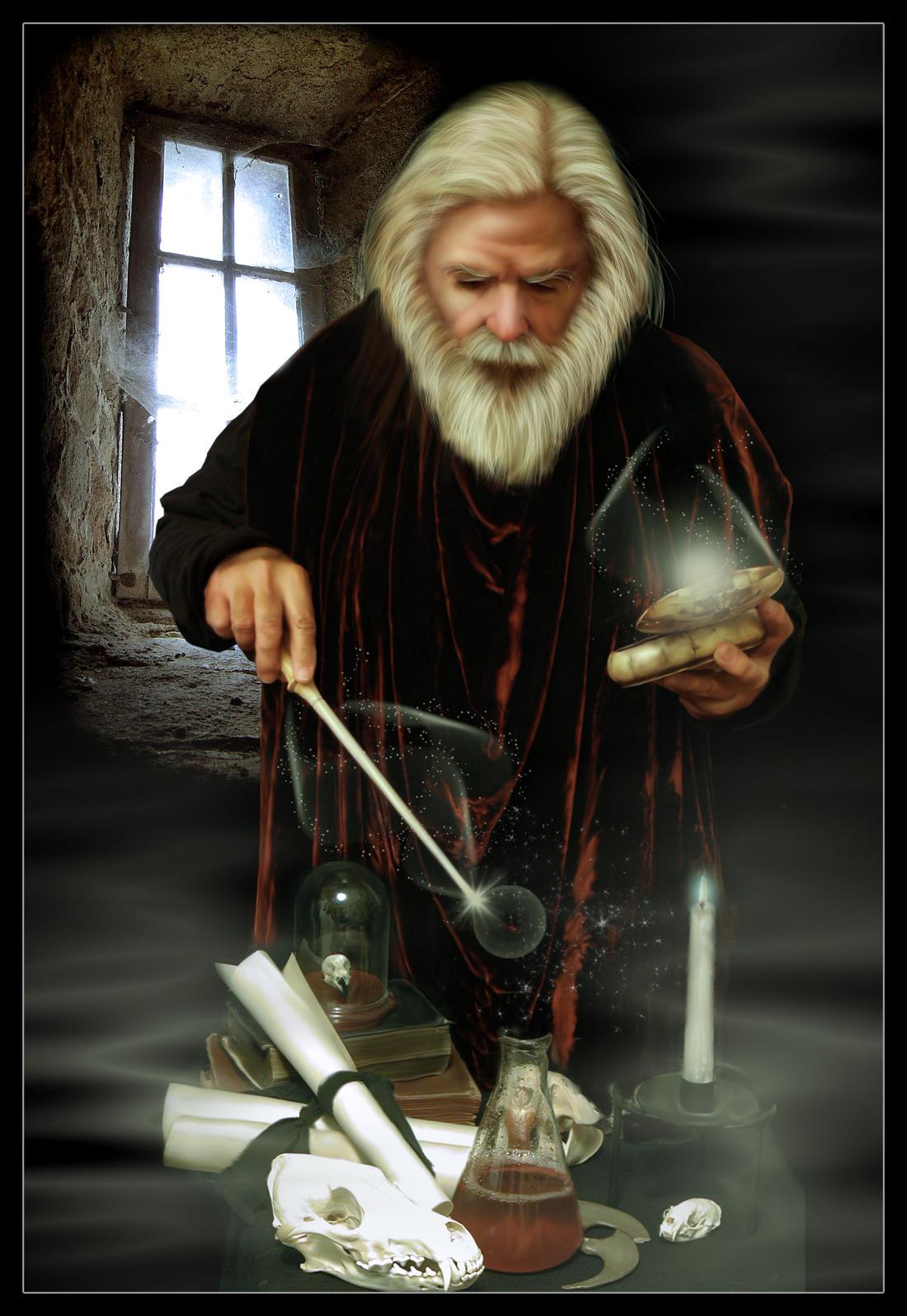 Wizard by mmebuterfly