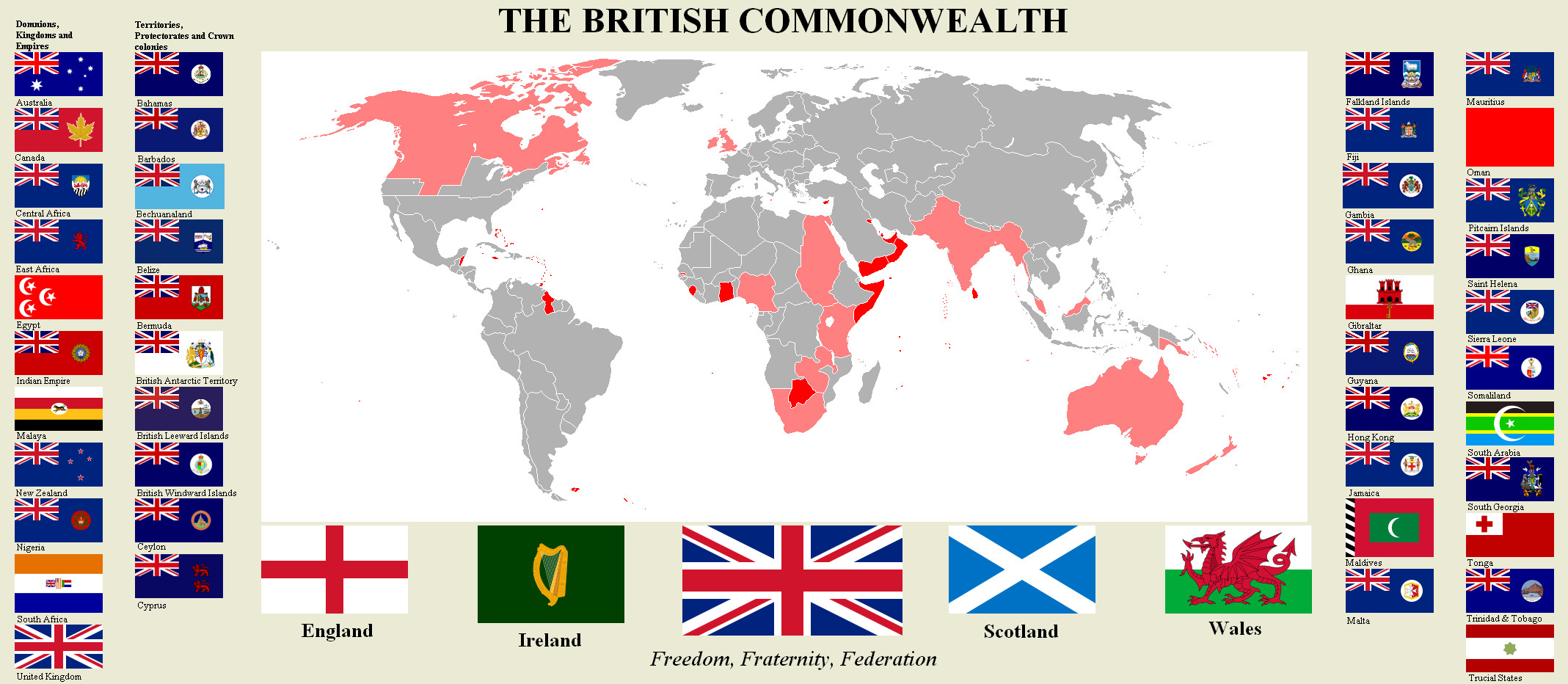 A history of great britain and the colonies