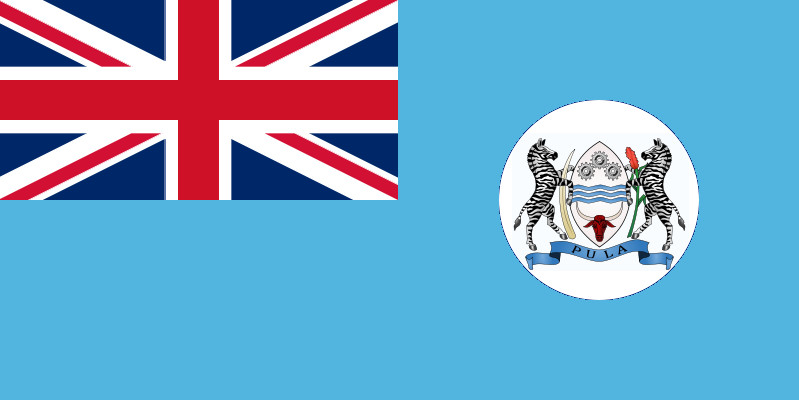 Bechuanaland Flag Althis by lamnay