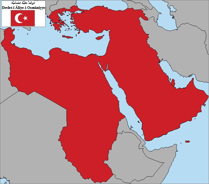 osmanlı devleti 1914 haritası