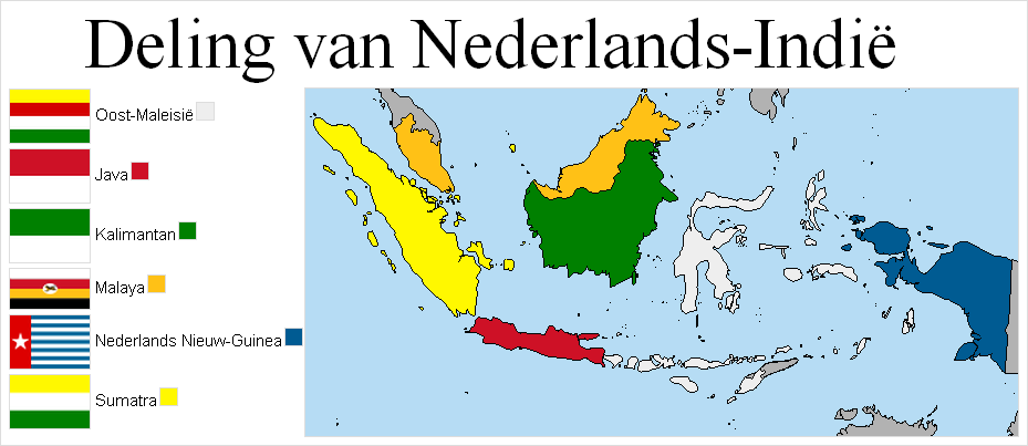 Division of Dutch East Indies by lamnay on DeviantArt