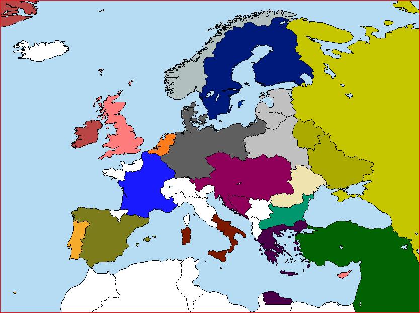Post-War Europe. by lamnay