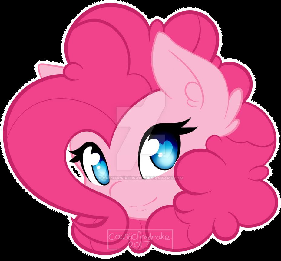 Pinkie Pie by causticfiredrake
