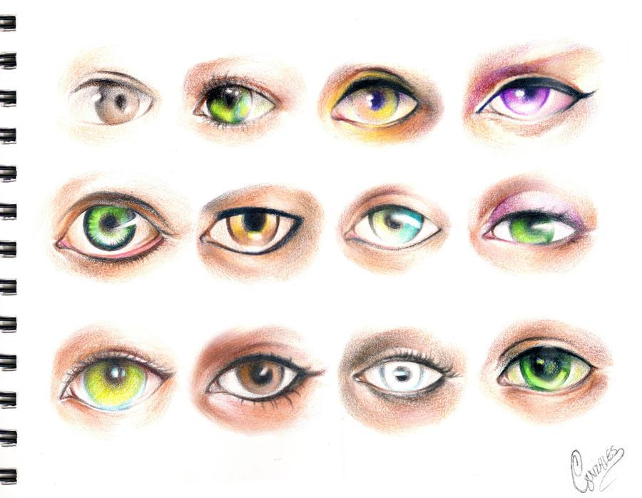 Eyes References by gunzy1