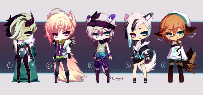 assorted little adopt auction - CLOSED