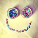 u make me smile,day and night.
