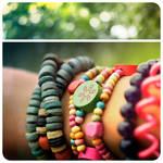 bracelets on a fresh morning.