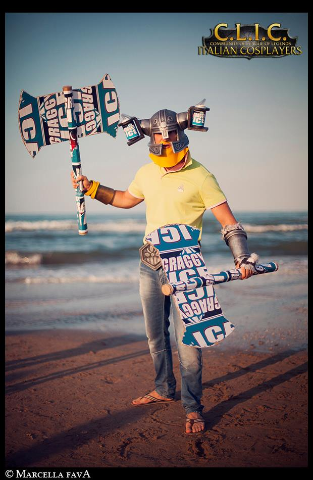 Brolaf League of Legends Cosplay (just for fun ^^) by Zerios88