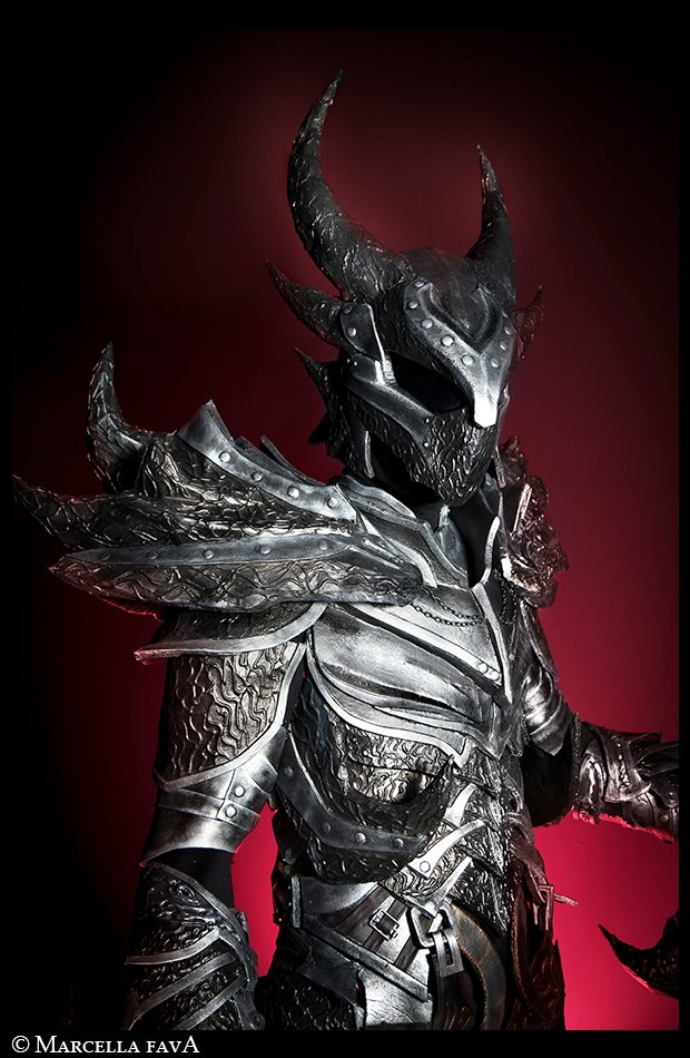 Daedric Armor from Skyrim Cosplay by Zerios88 on DeviantArt
