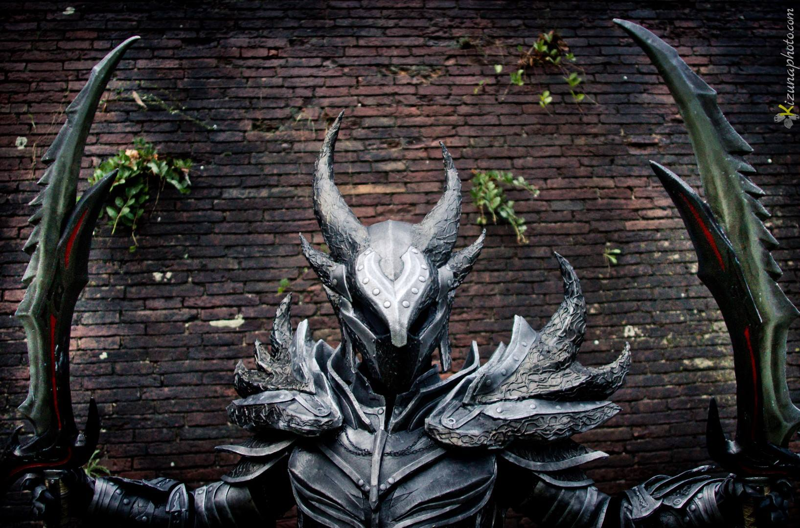 Daedric Armor from Skyrim Cosplay by Zerios88