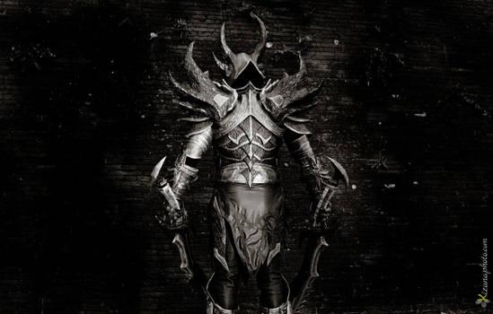 Daedric Armor Back from Skyrim Cosplay