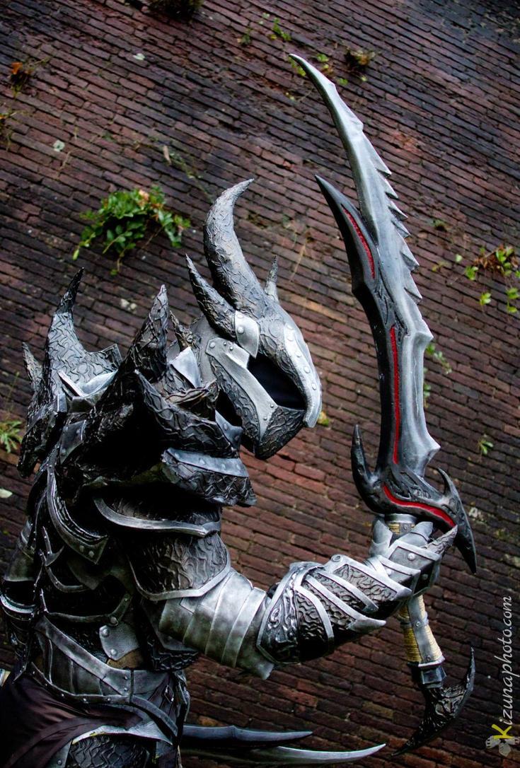 Daedric Armor from Skyrim Cosplay by Zerios88