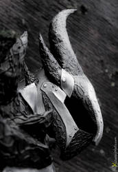 Daedric Helmet from Skyrim Cosplay by Zerios88