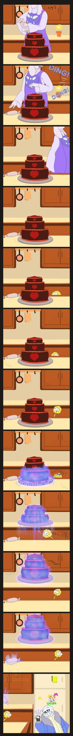 Frisk's Birthday- P1: The Cake!