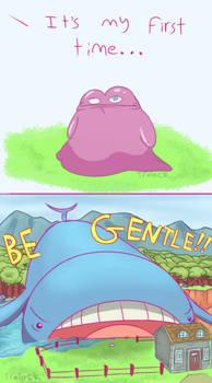 Pokemon Comic: Too Big