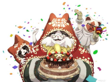 Birthday Grammeowster