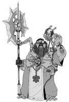 Dark Mechanicum Plague Engineer by Trelock