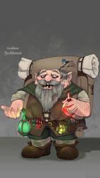 Grubbins the Dwarven Alchemist