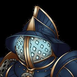 Commisson: Warforged Gladiator Icon2 (Transparent)