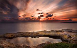 Sunrise in Mellieha by Jafar87