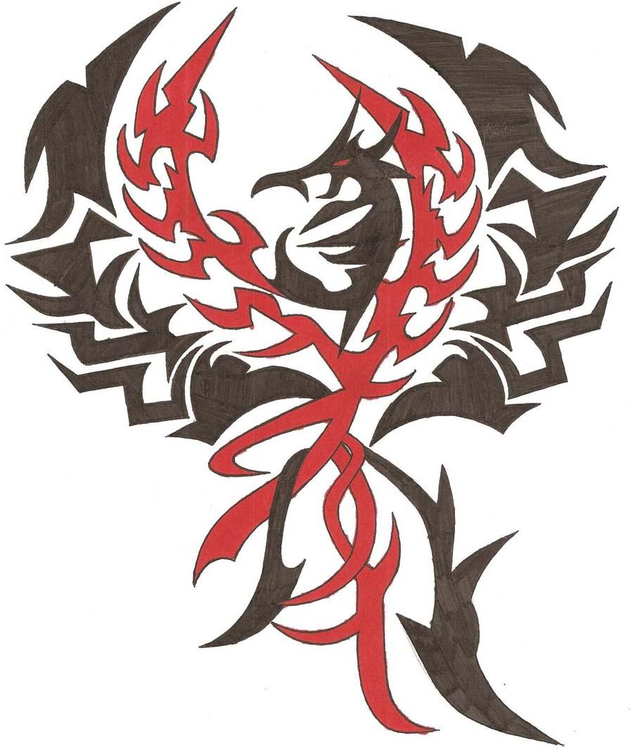 Phoenix Tattoo For Men - Phoenix tattoo designs for men