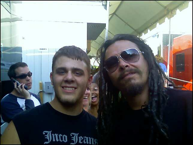 ME W BASS GUITARIST FROM KORN by vipergts1011