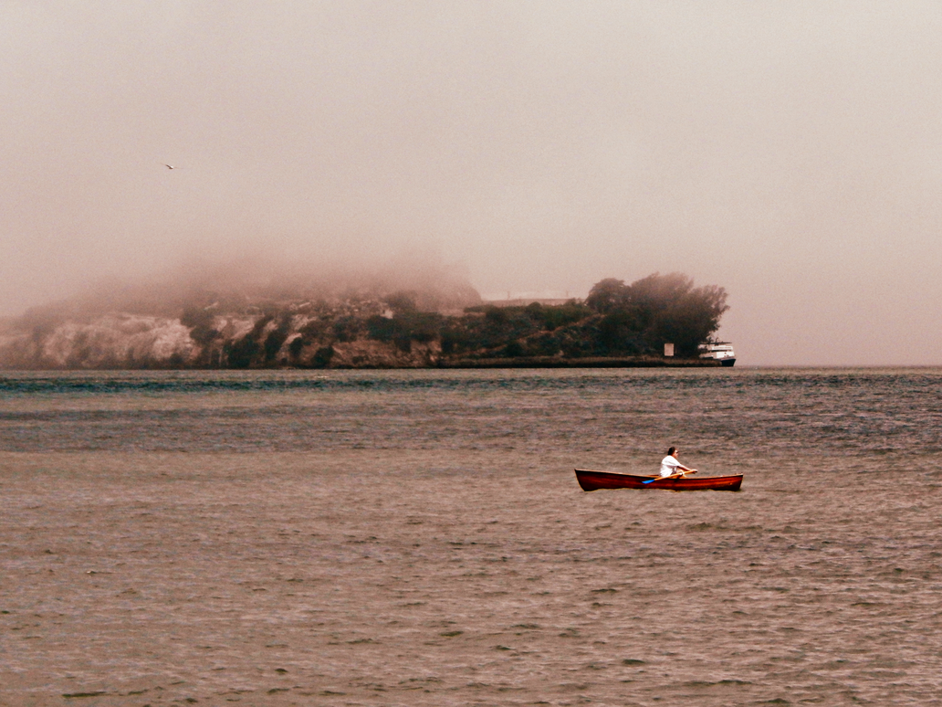 Escape from Alcatraz by livdrummer