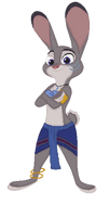 Judy Hopps as Princess Kida