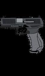 Walther PPQ (digital) by AlexAceves30