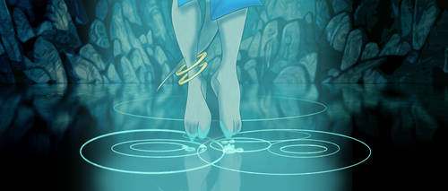 The Crystal Chamber (Atlantis) (feet)- Gadget by AlexAceves30
