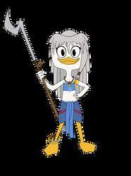 Princess Kida (Ducktales 2017 style) by AlexAceves30