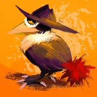 (old) honchkrow by thegr1mace