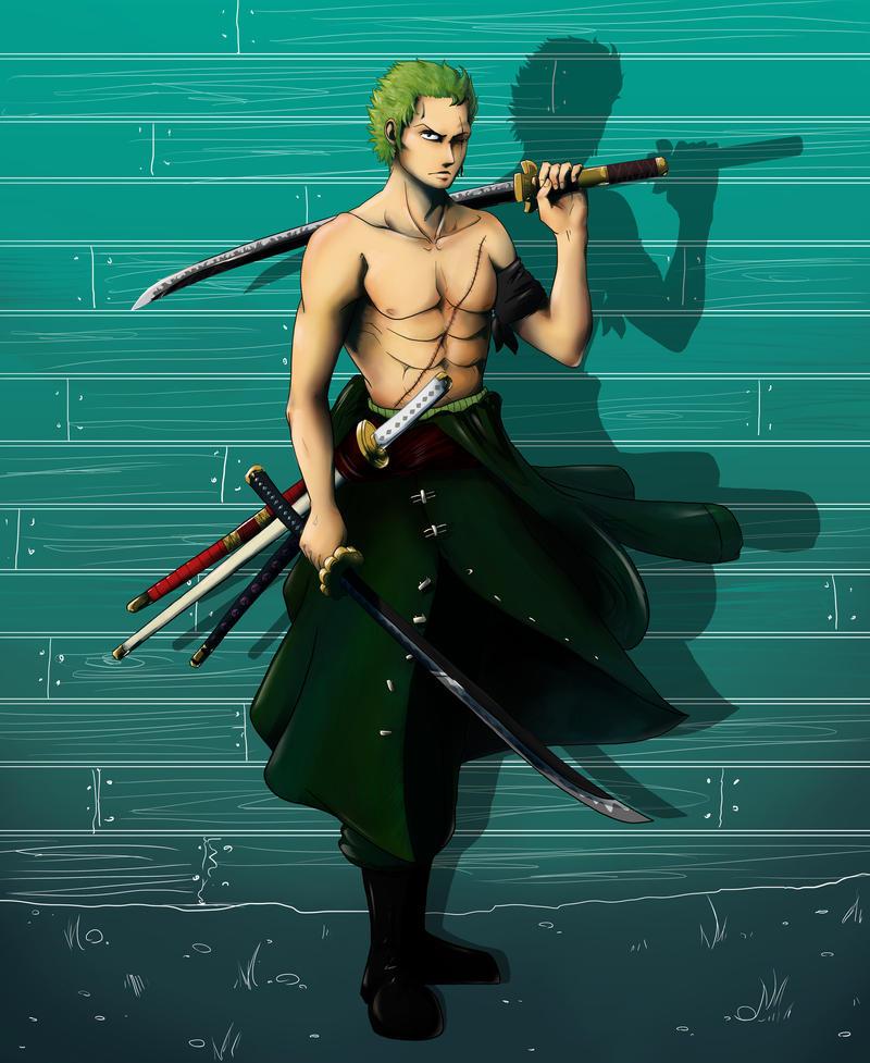 Swordsman by SarahSoak