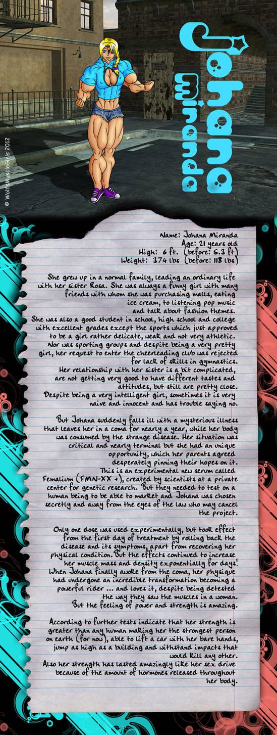 Johana Miranda + bio by WolfsMuscleGirls