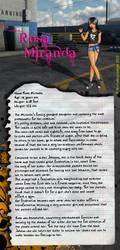 Rosa Miranda + Bio by WolfsMuscleGirls
