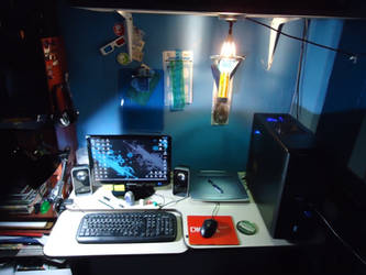 My Work Place 2012 by WolfsMuscleGirls