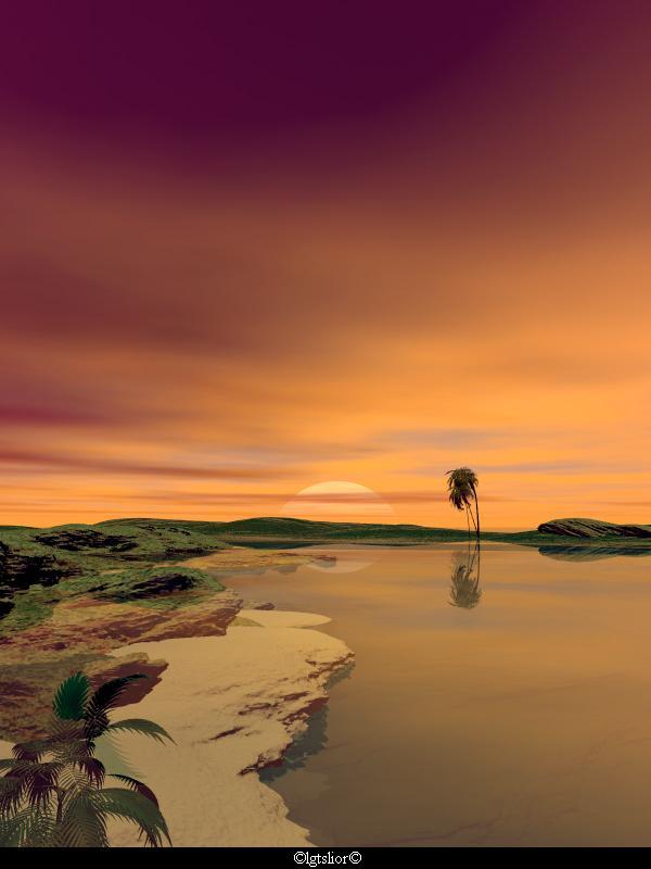 BeachScene by Lior-Art