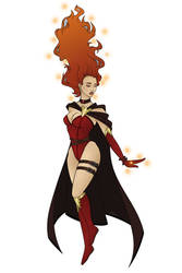 Jean Gray | Dark Phoenix by TiamatAkaTakhisis