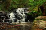 Waterfall Cora Lynne Stock