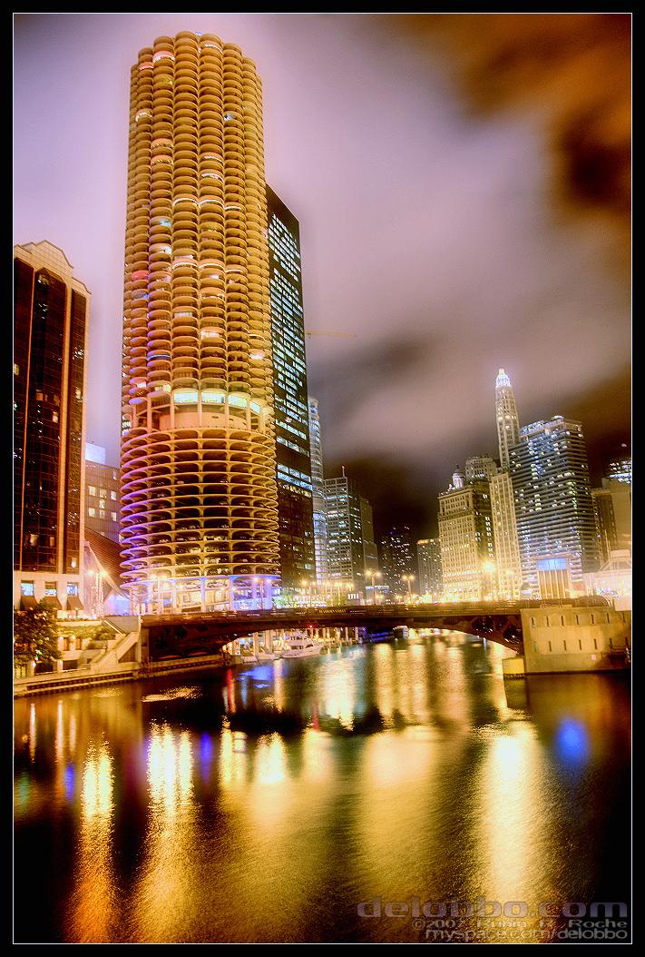 Marina City Chicago by delobbo