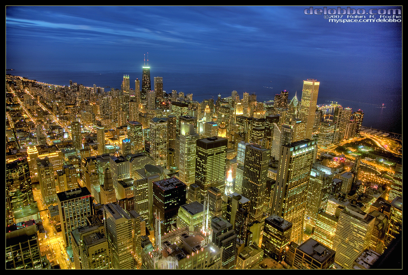 Chicago HDR 01 by delobbo