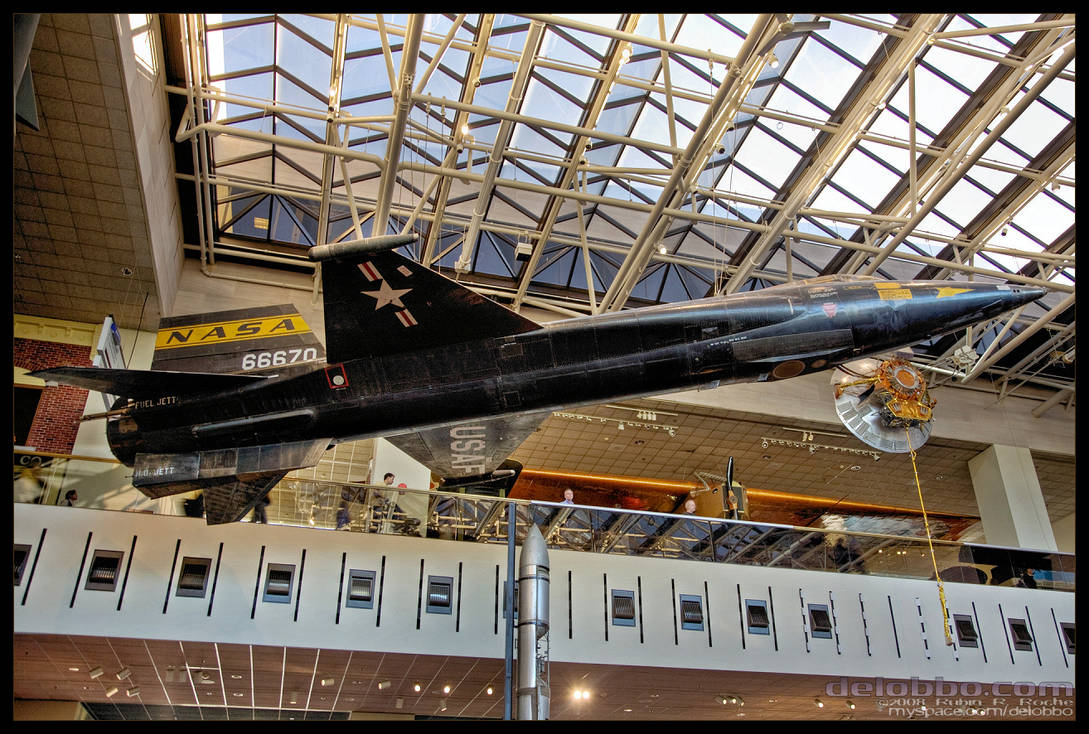 X-15 rocket plane by delobbo