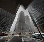Monroe + Wacker Chicago Feb 10