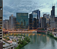 river panoramic by delobbo